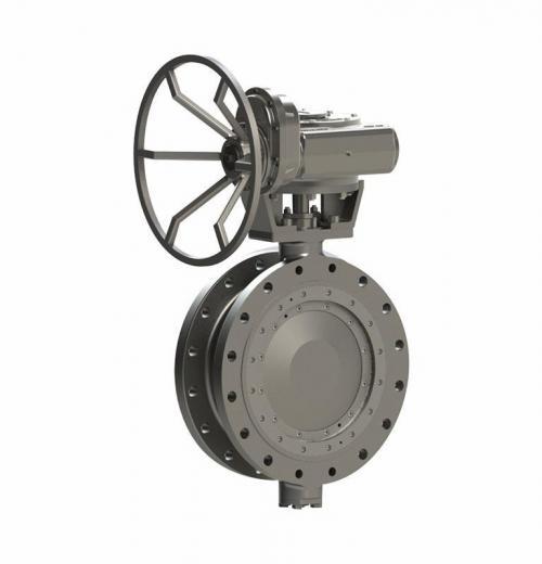 Válvula Borboleta Tri-excêntrica para Saneamento padrão AWWA Sede Metal x Metal