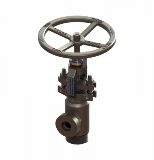 Válvula de Controle e Descarga Contínua tipo Agulha - Mod. ADP